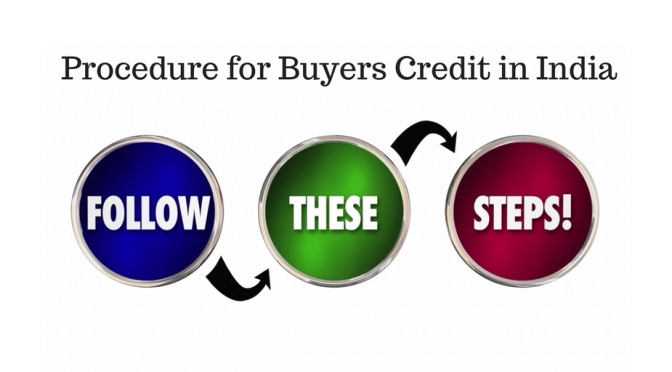 Procedure for Buyers Credit in India