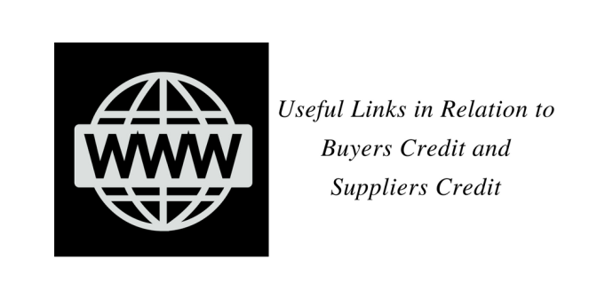 Useful links in relation to Buyers Credit