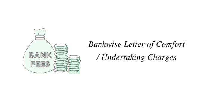 Bankwise Letter of Comfort / Undertaking Charges