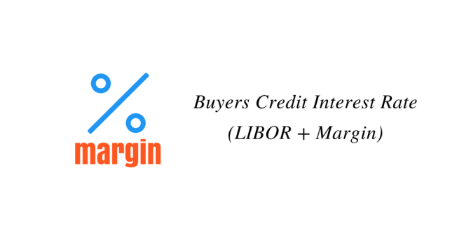 Buyers Credit Interest Rate (LIBOR + Margin)