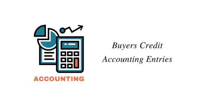 Buyers Credit Accounting Entries