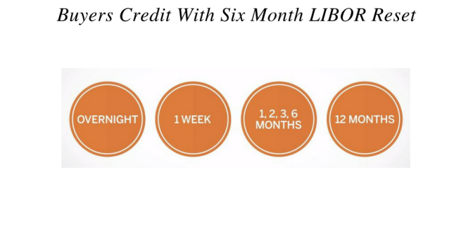 Buyers Credit with 6 Month Libor Reset