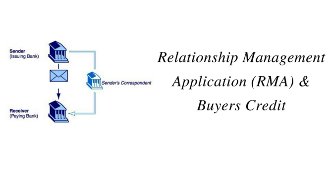 Relationship Management Application (RMA) and Buyers Credit