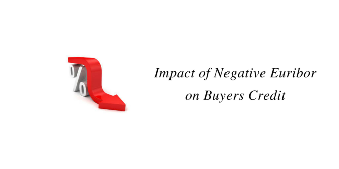 Impact of Negative Euribor on Buyers Credit