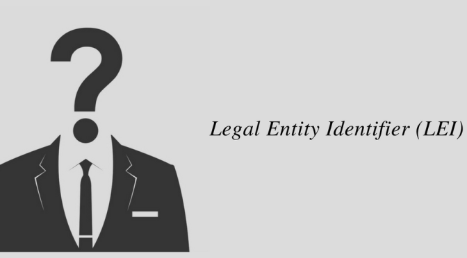 Legal Entity Identifier (LEI) Number