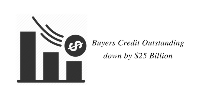 Buyers Credit Outstanding Down by $25 Billion