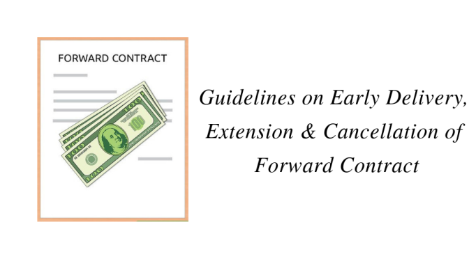 Guidelines on Early Delivery, Extension & Cancellation of Forward Contract