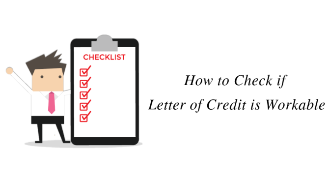 How to Check if Letter of Credit is Workable