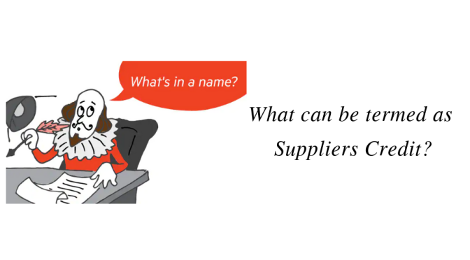 Suppliers Credit